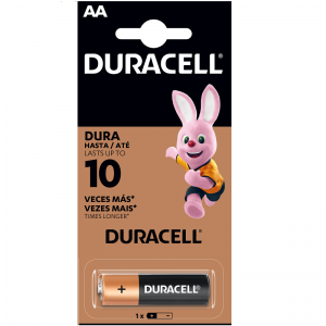 Pila AA Duracell Unidad
